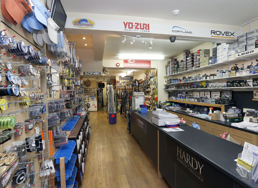 Aberystwyth gun shop for Fishing equipment stores